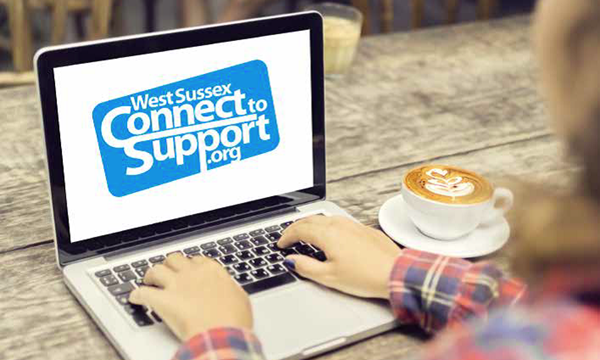 West Sussex Connect to Support logo