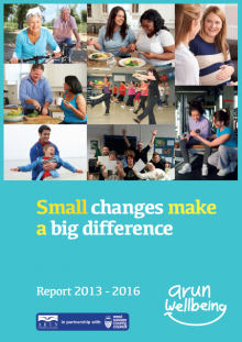Wellbeing Report 2013 - 2016